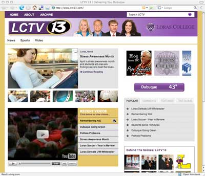 lctv screen shot