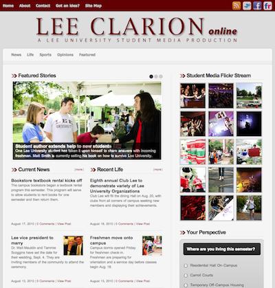 2010Lee Clarion Online