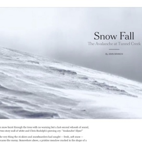 Introducing the ICM Snow Fall Challenge for collegemedia