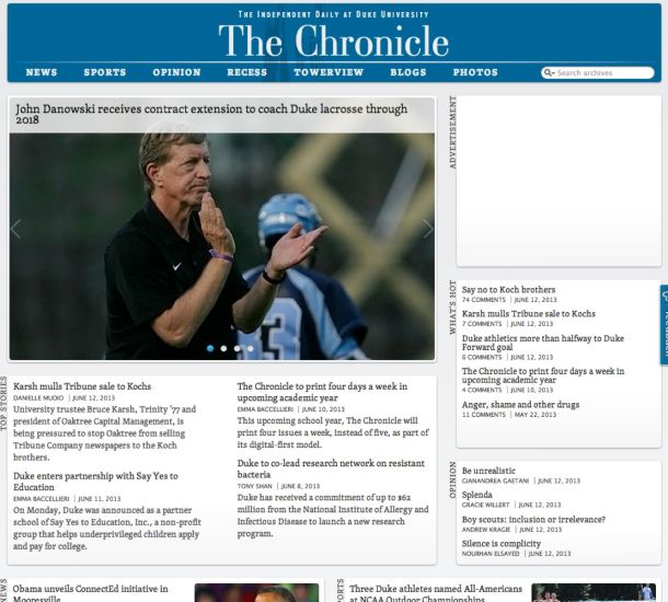Duke Chronicle