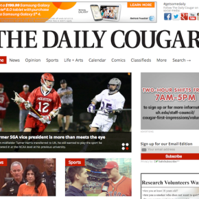 Redesigns 2013: The Daily Cougar