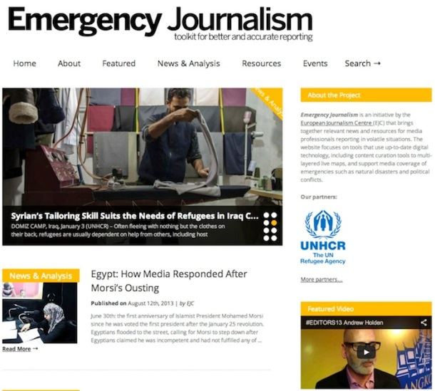 Emergency Journalism