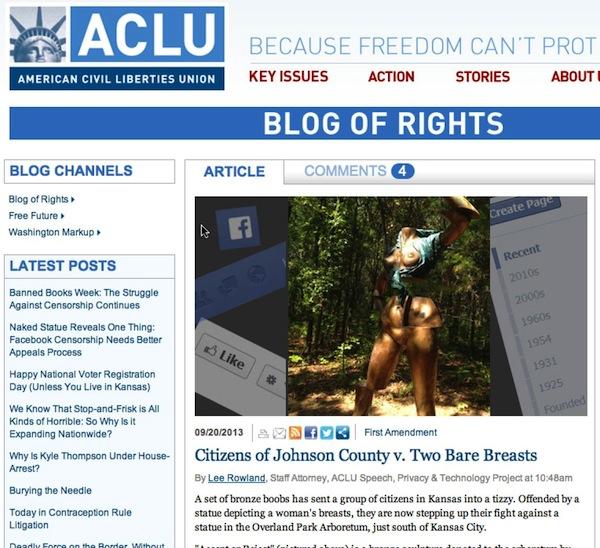 ACLU post